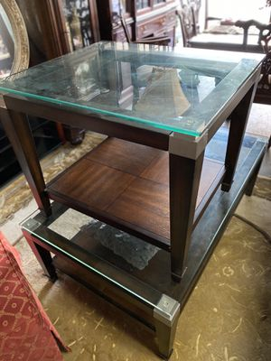 Matching coffee table and side table for Sale in Fort Lauderdale, FL