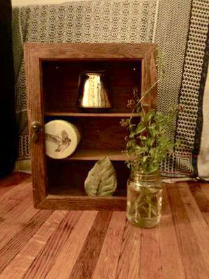 Wooden display cabinet for Sale in Brooklyn, NY