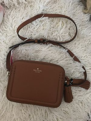 NWT Authentic Kate spade tan purse for Sale in Corona, CA