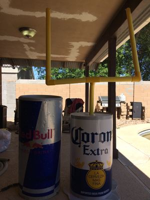 Red Bull drink cooler and corona goal post for Sale in Fort McDowell, AZ
