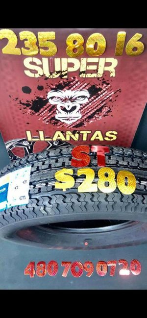 BRAND NEW SET OF TIRES!!!* 235 80 16 for Sale in Phoenix, AZ