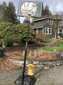 Lifetime Brand Adjustable Basketball Hoop for Sale in Snohomish,  WA