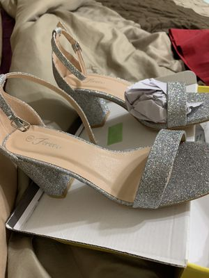 Silver 2' heels for Sale in Temple, GA