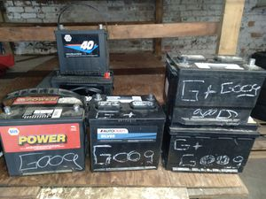Batteries for sale$30 To $35 for Sale in Springfield, MA