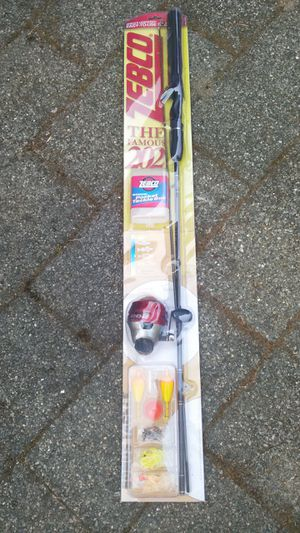 Zebco Fishing Rod & Reel for Sale in Seattle, WA