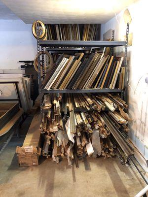 Moulding, Ready Made Frames, some framed prints for Sale in Roanoke, VA