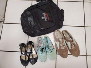 Lot of Shoes and Backpack (Vans, Salvatore Ferragamo, etc.) for Sale in Honolulu, HI