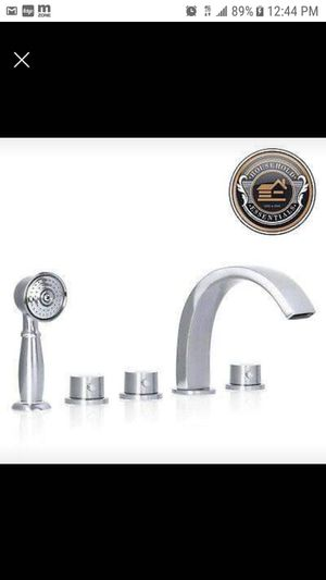 Brushed Nickel Roman Tub Bathtub Faucet Spout with Hand Shower Spray.... CHECK OUT MY PAGE FOR MORE ITEMS for Sale in Baltimore, MD