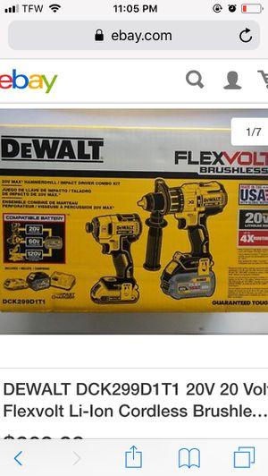 Dewalt FlexVolt Combo Kit for Sale in Tampa, FL