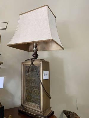 Gold Rectangle Lamp for Sale in Nolensville, TN