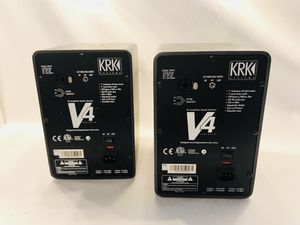 "KRK V4 Reference Studio Monitors Powered 9"" Speakers Pro Audio Active Crossover for Sale in Miami, FL"