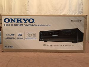 Onkyo DX-C390 - 6-Disc CD Changer w/ MP3 Compatibility for Sale in San Diego, CA