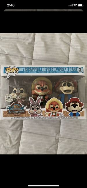 Funko pop Disney splash mountain 3 pack for Sale in Los Angeles, CA