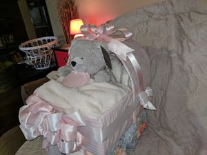 Diaper carriage baby shower decoration for Sale in Painesville, OH