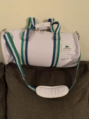Lacoaste duffle bag for Sale in Everett, WA
