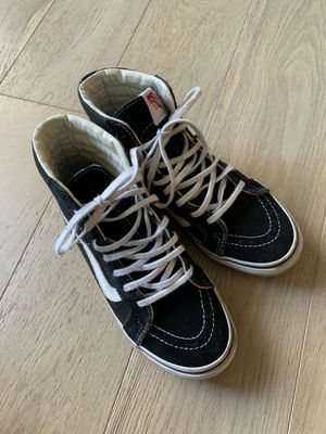 Vans Sk8 Hi Shoes, Womens size 6 for Sale in Portland, OR