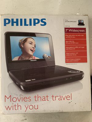 "7"" Widescreen Portable DVD Player /mp3-cd player for Sale in Long Beach, CA"