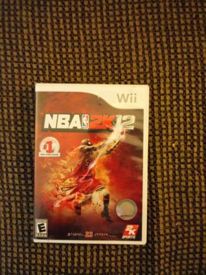 Wii NBA 2K12 for Sale in Madison Heights, VA