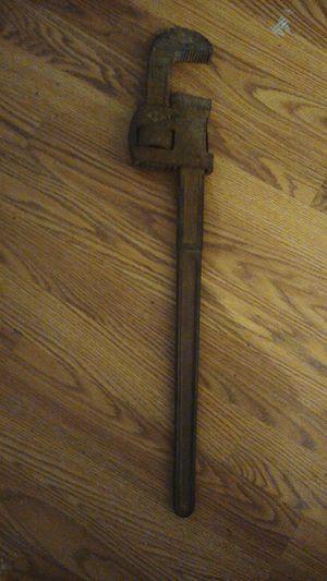 Stillson pipe wrench for Sale in Lexington, KY