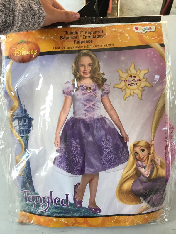 "Child Rapunzels from Disney's ""Tangled"" costume"