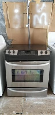 Stainless steel Kenmore Elite slide in range oven for Sale in Vista, CA