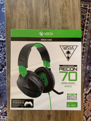 Turtle beach recon 70 brand new gaming headset for Sale in San Diego, CA