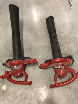 Toro leaf blowers and vacuum electric for Sale in Miami, FL
