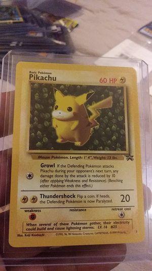 No#1 vintage promo pokemon card Picachu for Sale in Lincolnshire, IL