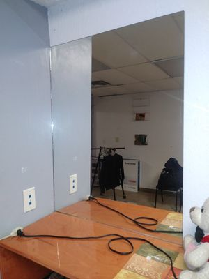 Commercial barber shop mirrors for Sale in Whitehall, OH