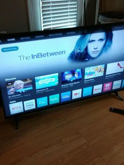 "40"" In. Vizio TV W-Remote -Read Info- for Sale in Stockbridge,  GA"