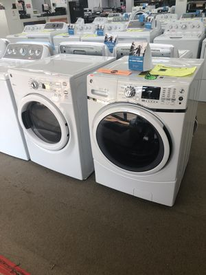 Ge Washer and Dryer set brand new scratch and dent on sale for Sale in Norcross, GA