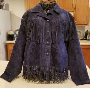 Blue Suede Jacket & Purse Set for Sale in Austin, TX