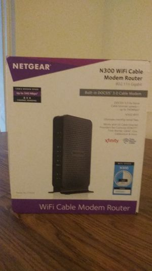 N300 Wifi Cable Modem Router for Sale in Atlantic Beach, FL