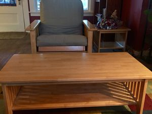 FUTON Chair w/ Drawer 3-Pc Living Room Set for Sale in Portland, OR
