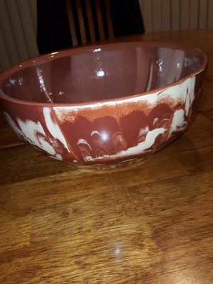 "Montana made Clays in Calico bowl 1977 11"" wide by 4.5"" for Sale in Spanaway, WA"