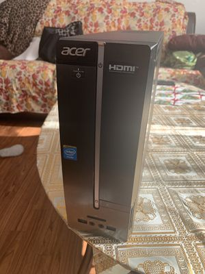 Acer XC-603G Desktop home computer with keyboard for Sale in Iowa City, IA