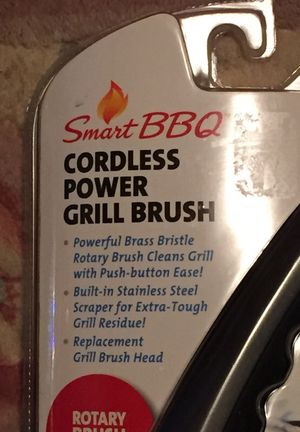Smart BBQ Cordless Power Grill Brush for Sale in Hyattsville, MD