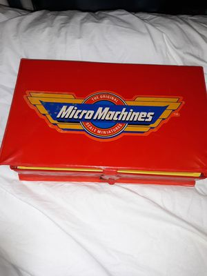 1990 micro machines es28990 red case service playset for Sale in Phoenix, AZ