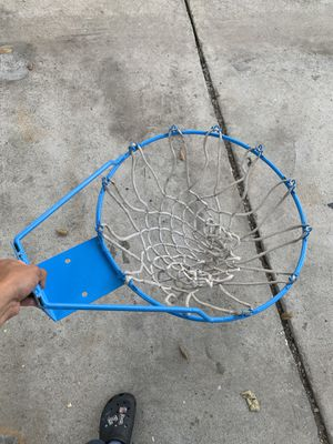 Basketball hoop with net for Sale in Los Angeles, CA