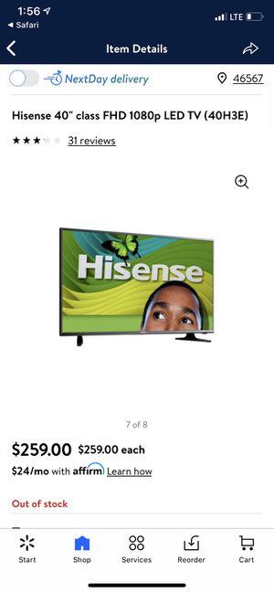 40 inch tv for Sale in Goshen, IN