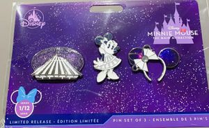 DISNEY MINNIE MOUSE MAIN ATTRACTION PINS BIG THUNDER MOUNTAIN SEPTEMBER LIMITED for Sale in Grand Prairie, TX
