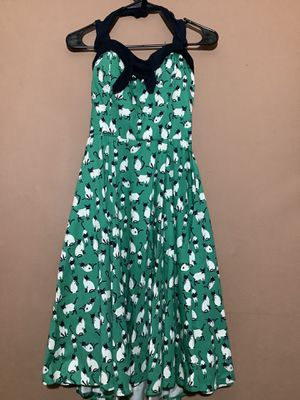 Rockabilly inspired Siamese cat halter dress for Sale in South El Monte, CA