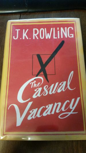 The casual vacancy by jk rowling for Sale in Plymouth, MI