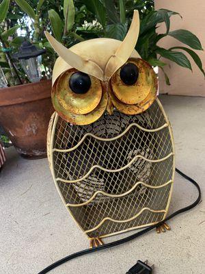 Tin Owl Fan for Sale in Pasadena, CA