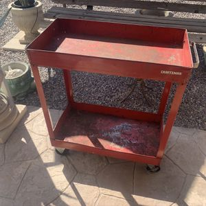 CRAFTSMAN TOOL CART ( H- 35 Inches W- 30 1/2 Inches D- 16 1/4 Inches ) $70.oo for Sale in Henderson, NV