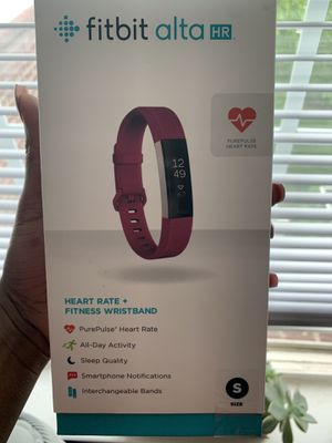 fitbit alta HR HEART RATE + FITNESS WRISTBAND for Sale in Canton, MI