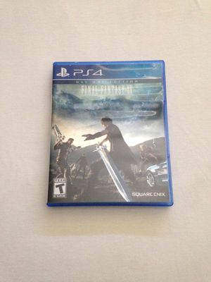 """Ps4 Game: Final Fantasy XV """"Day One Edition"""" Disc Like New for Sale in Reedley, CA"""