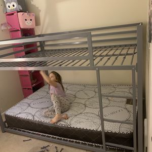 Full Size Bunk Bed With Out The Mattress for Sale in Roselle, IL