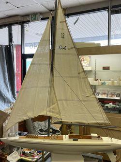 Wooden Sailboat mantelpiece for Sale in Glen Burnie,  MD