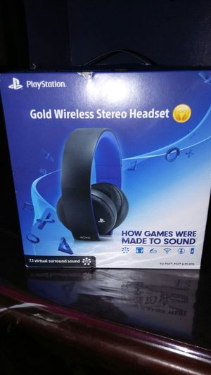 PlayStation wireless stereo Headsets for Sale in Chicago, IL
